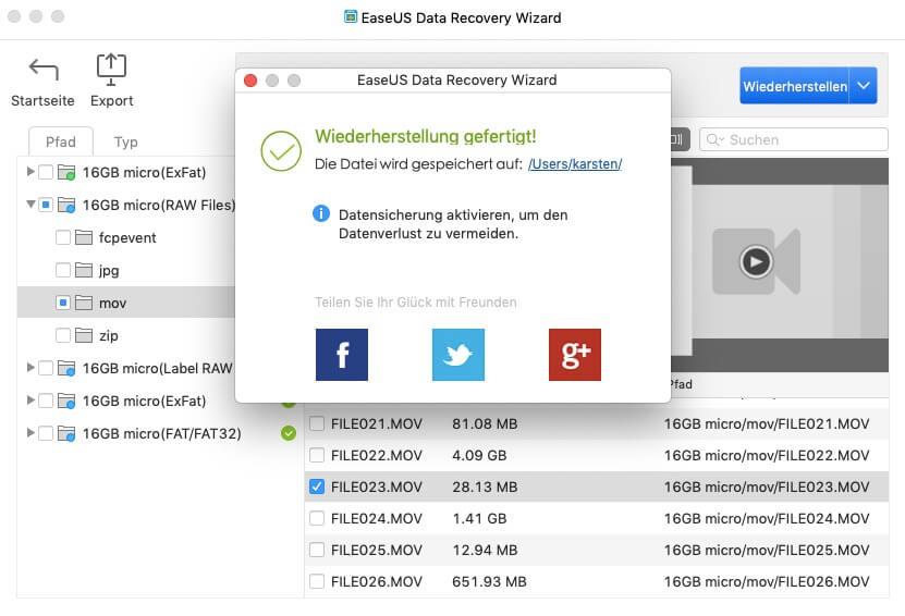 EaseUS Data Recovery Wizard Metropolitan Monkey