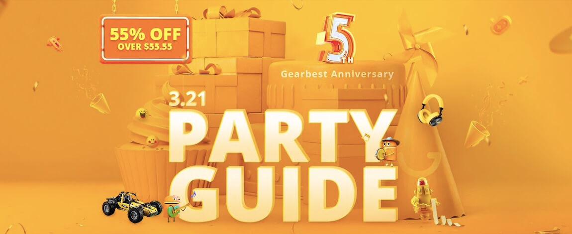 Gearbest Anniversary Guide Metropolitan Monkey