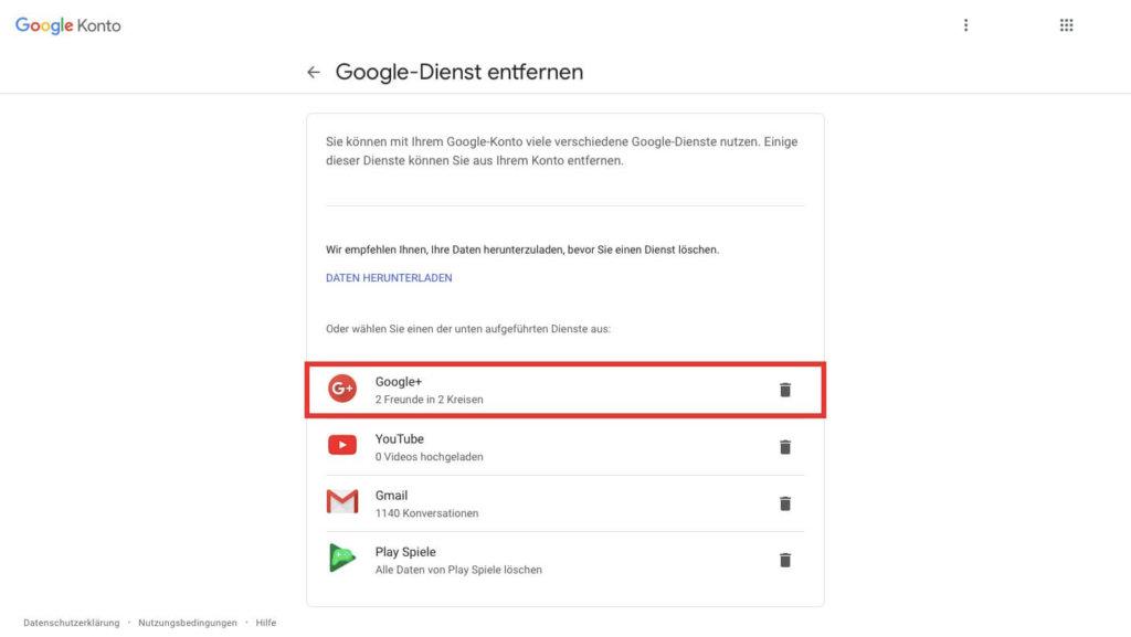 Google+ plus delete account Metropolitan Monkey