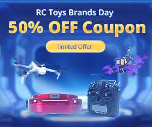 Banggood Deals 50% Off Coupon RC Drones