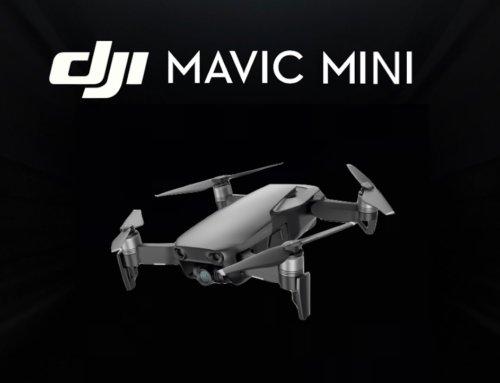 DJI Mavic Mini bestätigt! – Jetzt ist es offiziell!