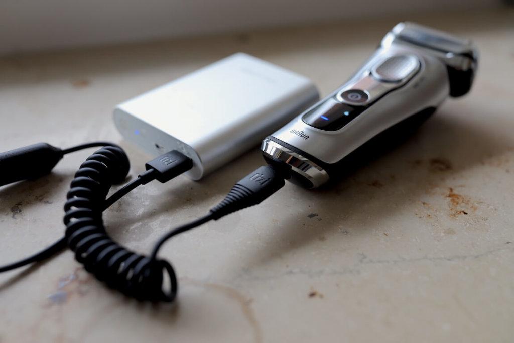 tizi Tankrüssel USB Ladekabel Powerbank Ersatz Braun Series 9