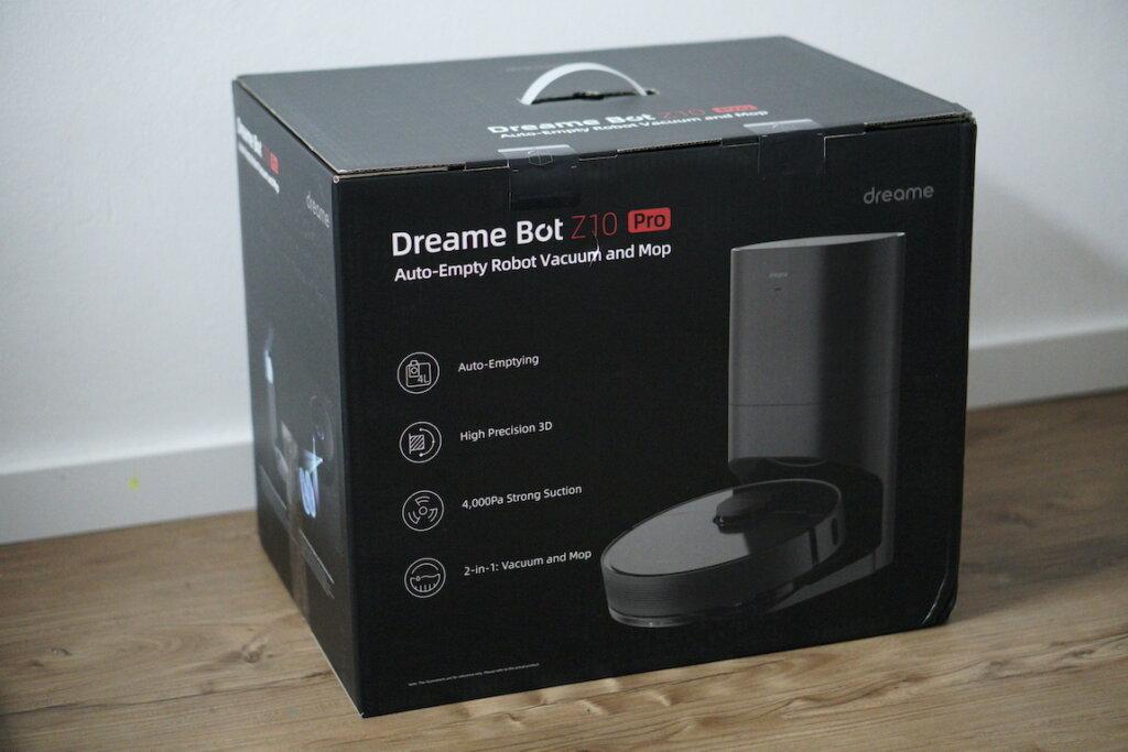 Dreame Bot Z10 Pro Staubsaugerroboter Box
